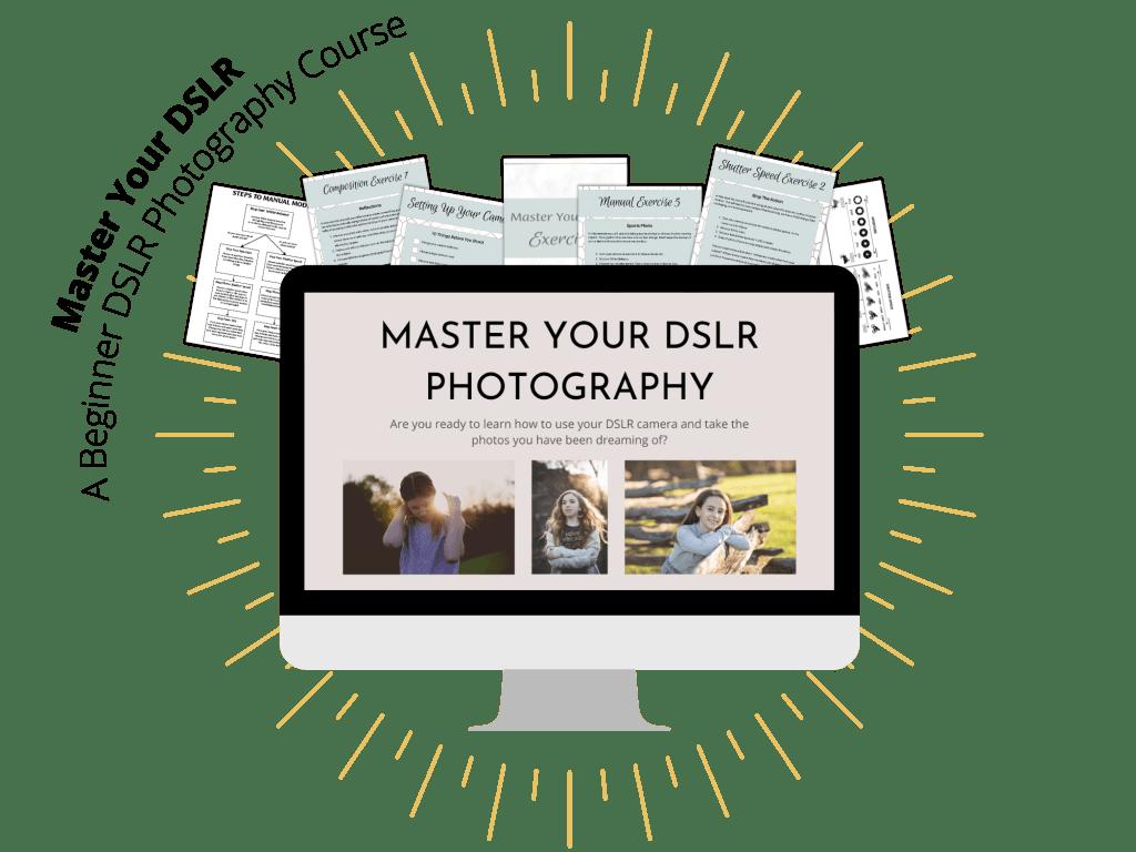 Master your DSLR Sals Mockup