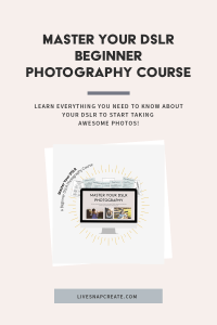 Master your DSLR Beginner Photography Course