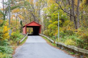 Covered bridge in Northern MD