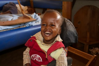 At six, he has made great strides and is always smiling, but we know that many of his disabilities could have been avoided with proper nutrition.
