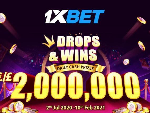 Акция в казино 1xBet — букмекер дарит 5000 евро самым отпадным игрокам!