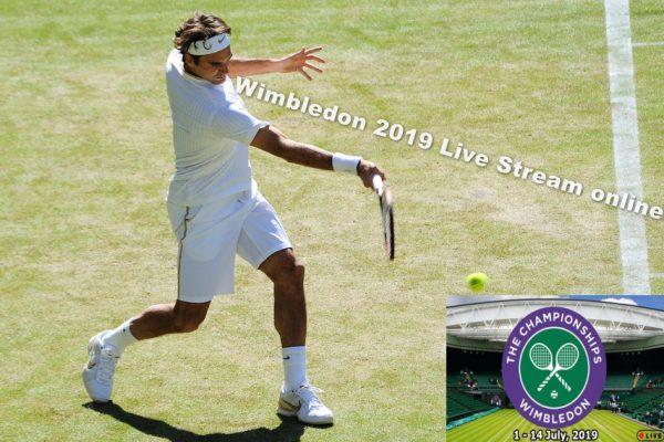 2019 Wimbledon live stream and Grand Slam Schedule