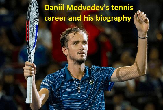Daniil Medvedev tennis player, wife, ranking, age, net worth