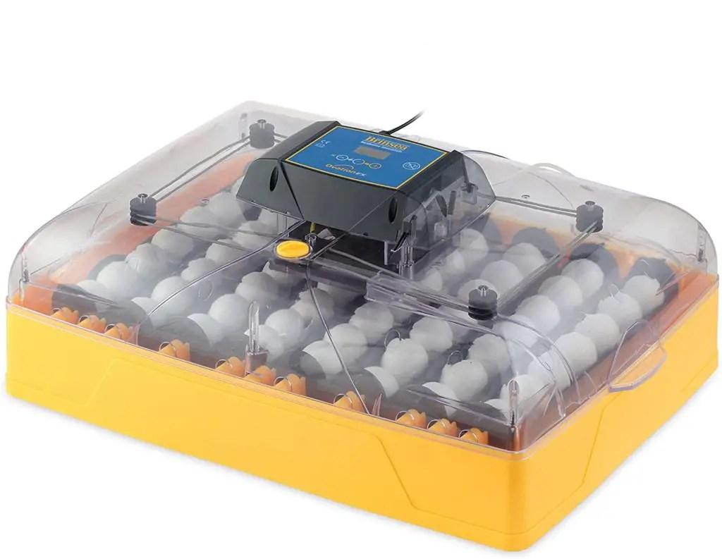 The Brinsea Ovation 56 EX Egg Incubator
