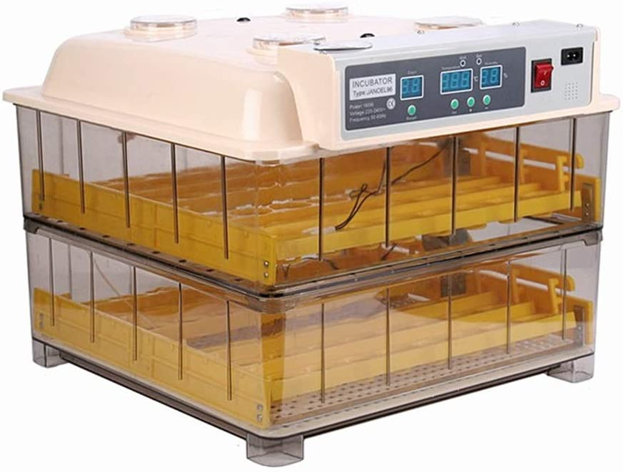 OMLTER Fully Automatic 96 Egg Incubator