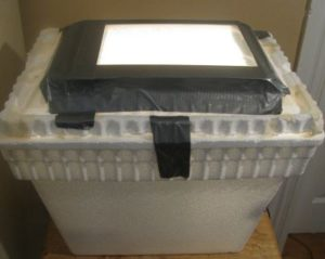 homemade egg incubator