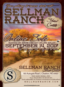 Sellman Ranch Online Sale @ Chadron | Nebraska | United States