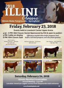 2018 Illini Classic @ Illinois State Fairgrounds | Springfield | Illinois | United States