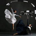 Monochrome Silks & Hoops