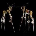 Reindeer Stilt Walkers