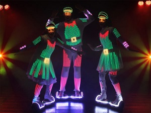 Christmas live acts for your festival events by Livestock Productions