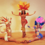 Carnival Samba Show Girls