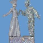 Human Living Statues