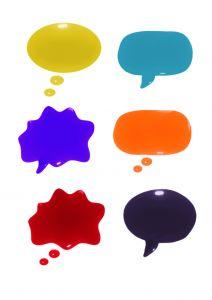 talk bubble by spekulatorstockxnchg