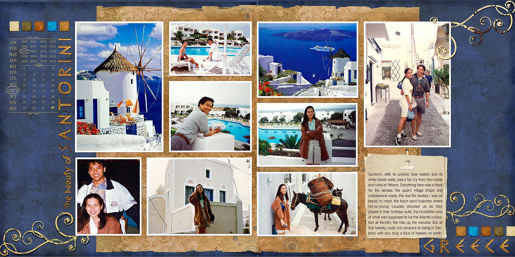 The Beauty of Santorini