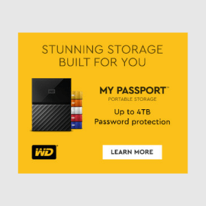 Western Digital My Password Portable Hard Drive Livestream Deals