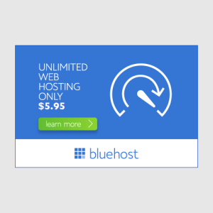 Unlimited Web Hosting bluehost