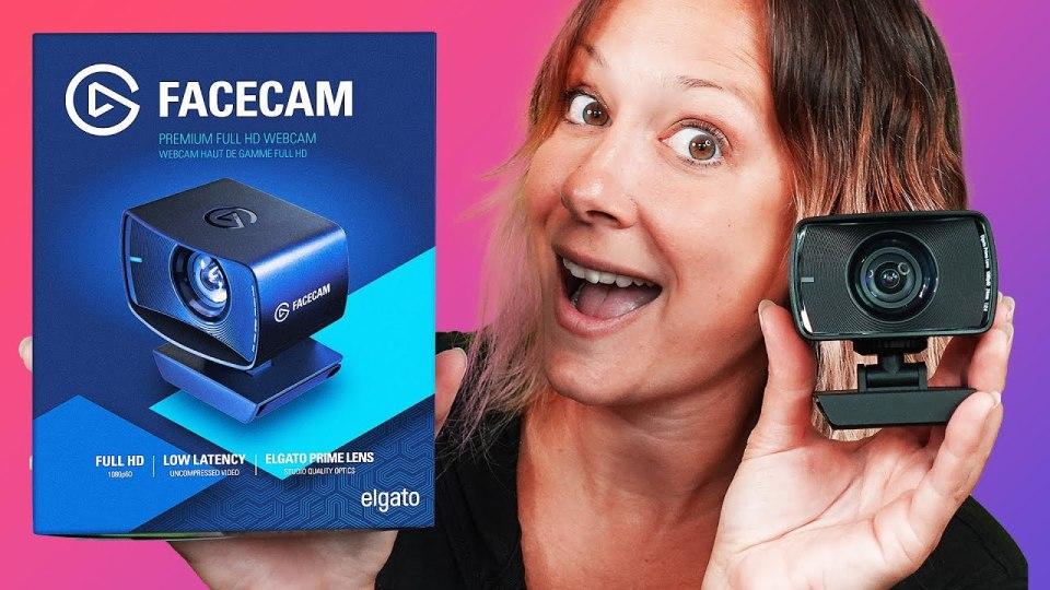 Luria and Facecam Webcam