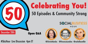 #sbizhour 50th episode