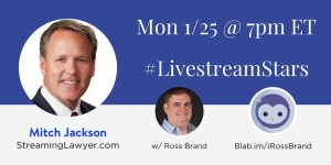 #LivestreamStars Ross Brand Mitch Jackson