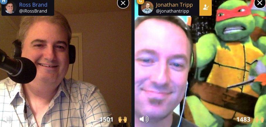 Livestream Universe Stars Ross Brand Jonathan Tripp
