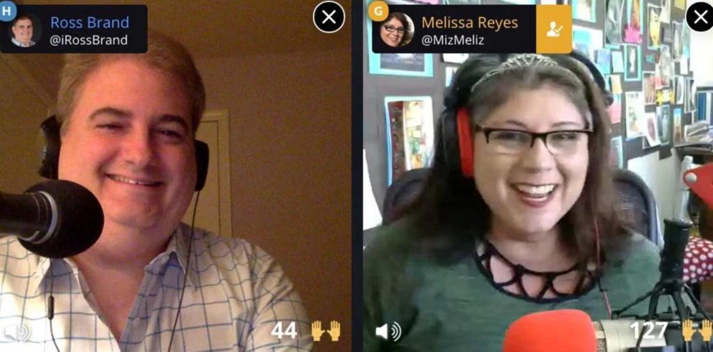 Ross Brand Melissa Reyes Livestream Universe Stars
