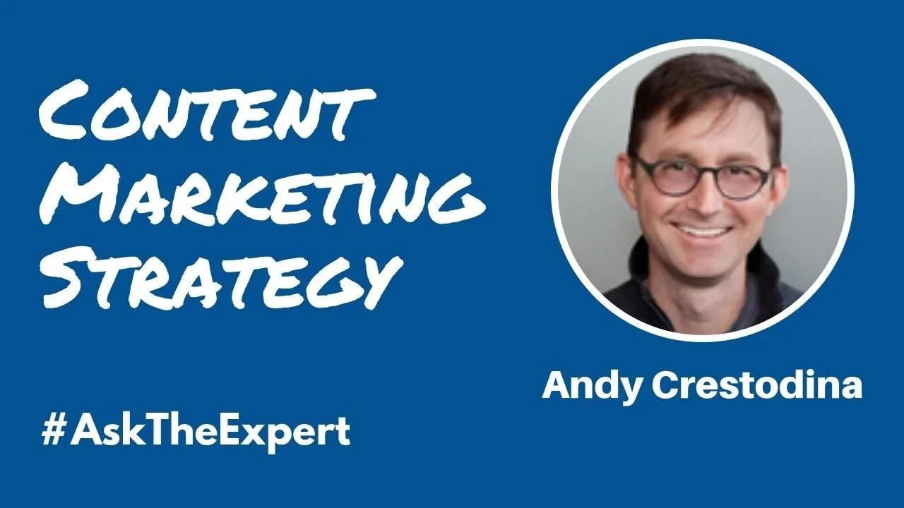Andy Crestodina Livestream Universe Ask The Expert