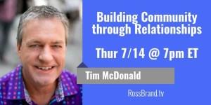 Ask The Expert Tim McDonald