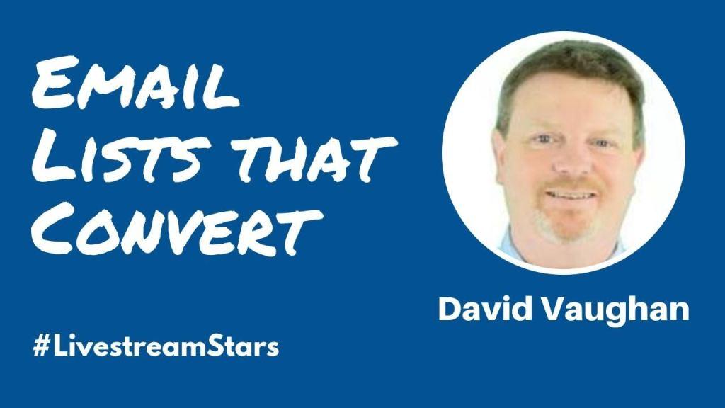 Livestream Universe Stars David Vaughan