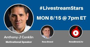 Livestream Universe Stars Anthony Conklin Ross Brand