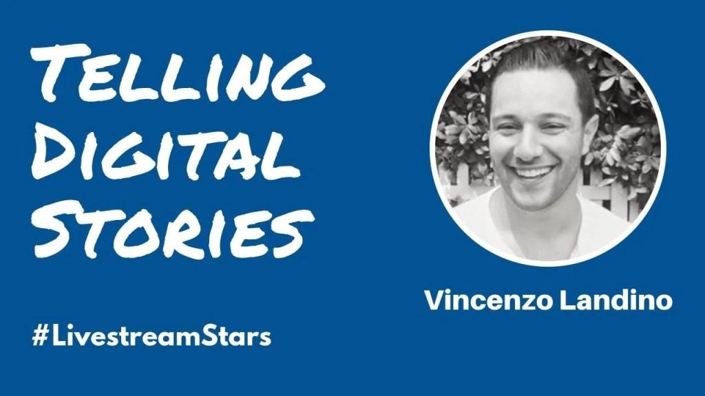 Vincenzo Landino Livestream Universe Stars