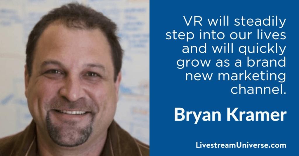 Bryan Kramer 2017 Prediction Livestream Universe
