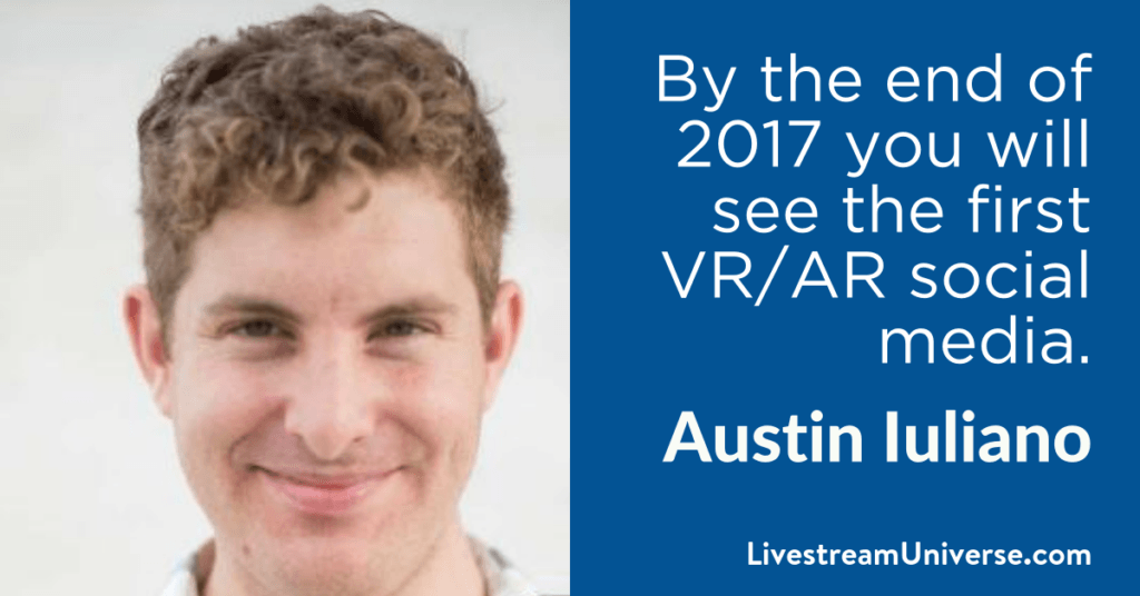 Austin Iuliano 2017 Prediction Livestream Universe