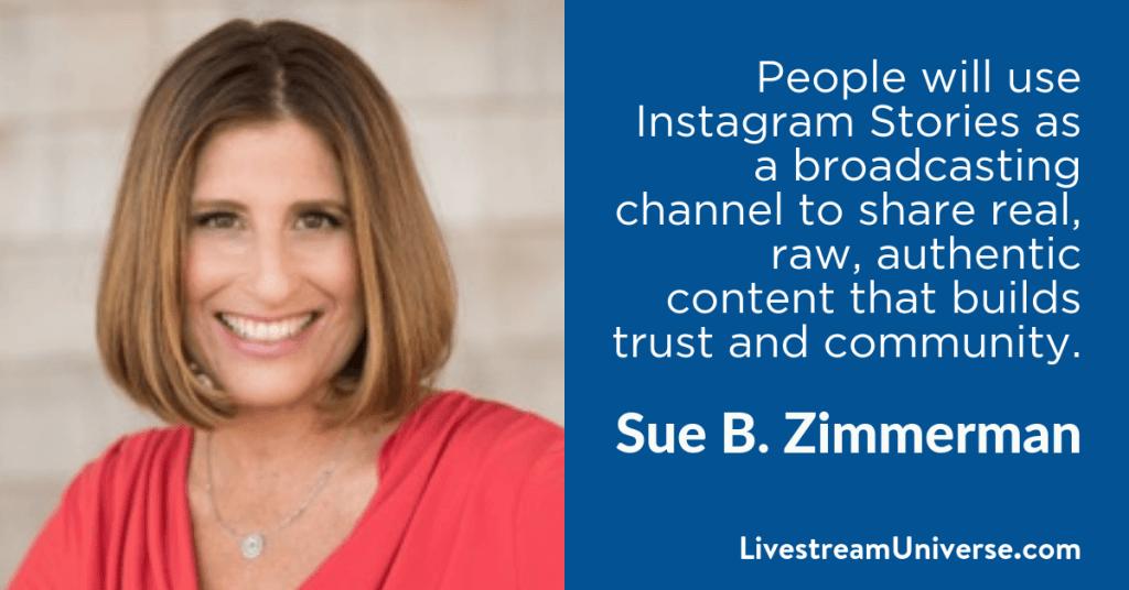 Sue B Zimmerman 2017 Prediction Livestream Universe