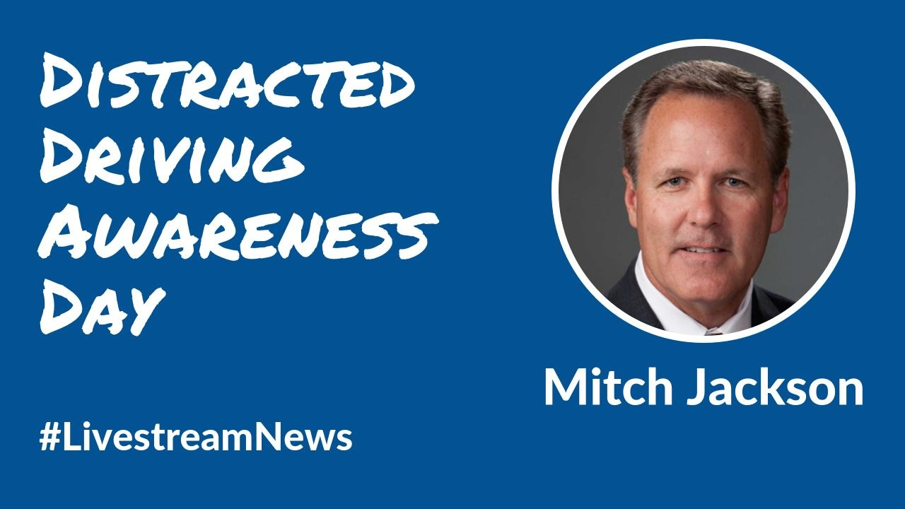 Mitch Jackson Distracted Driving Livestream Universe News