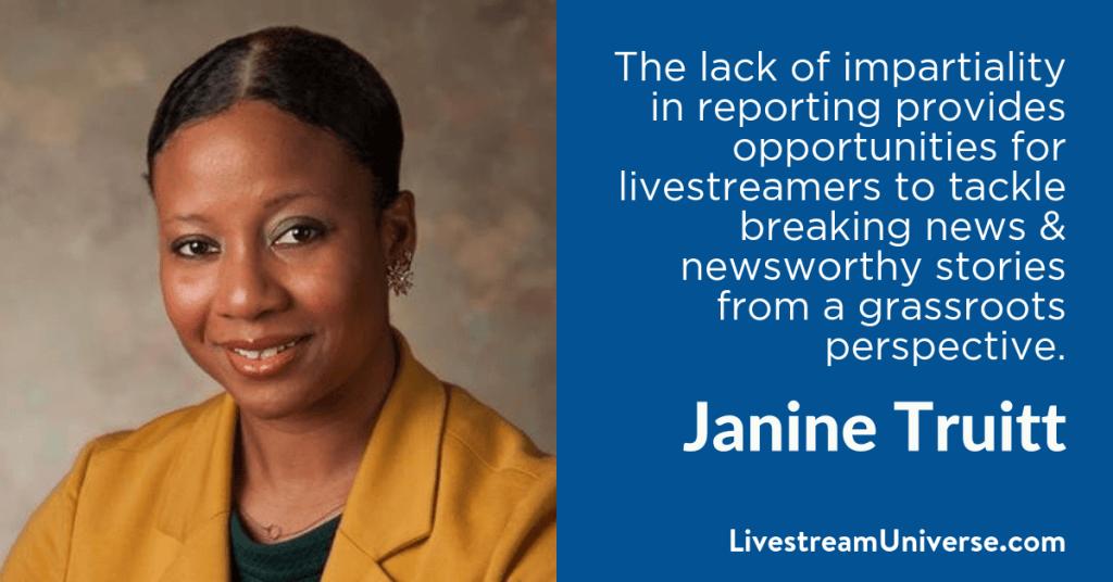 Janine Truitt 2017 Prediction Livestream Universe