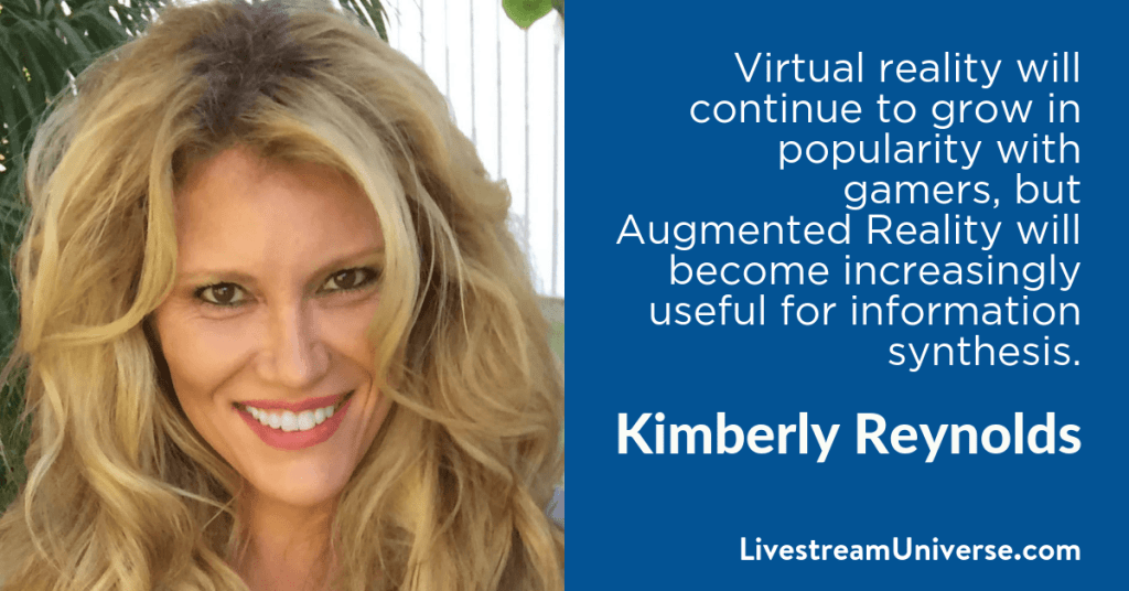 Kimberly Reynolds 2017 Prediction Livestream Universe