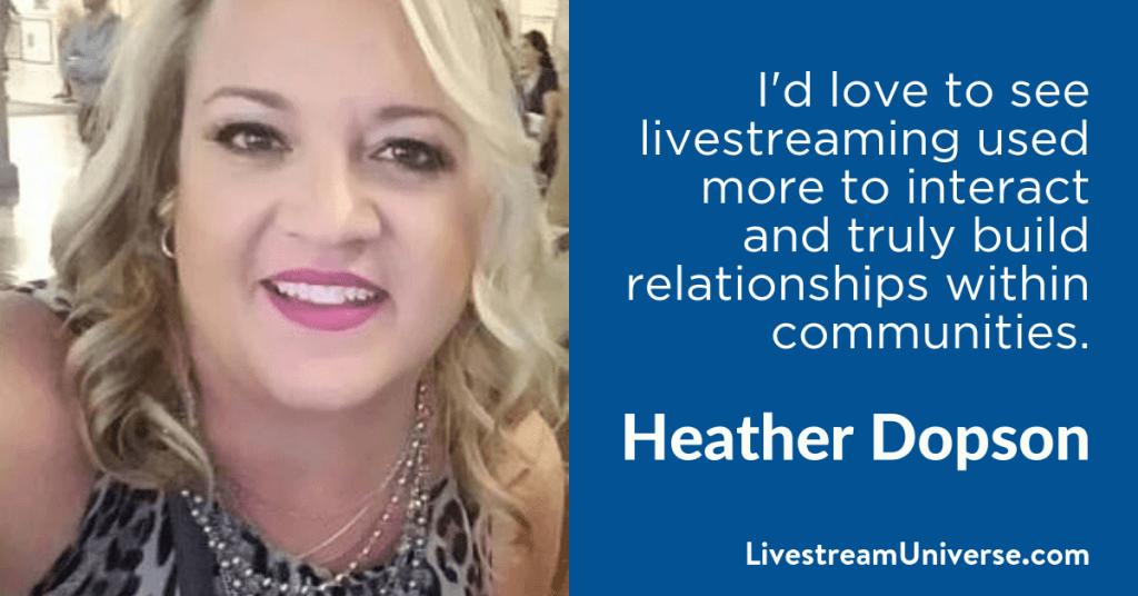 Heather Dopson GoDaddy 2017 Prediction Livestream Universe