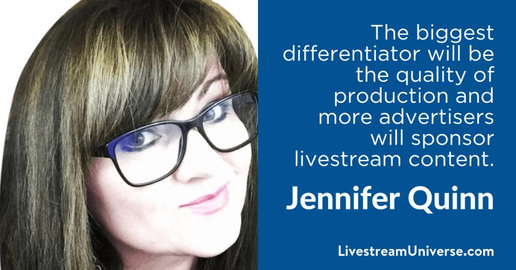 Jennifer Quinn 2017 Prediction Livestream Universe