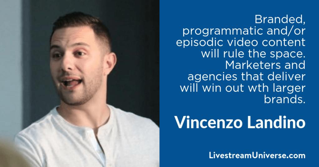 Vincenzo Landino 2017 Prediction Livestream Universe