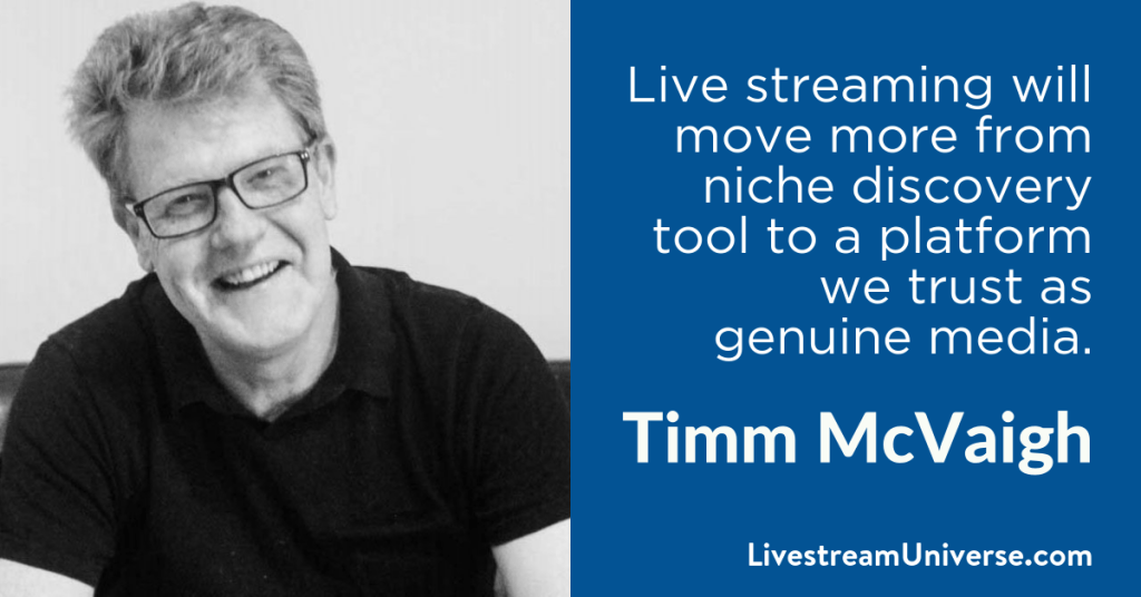 Timm McVaigh 2017 Prediction Livestream Universe