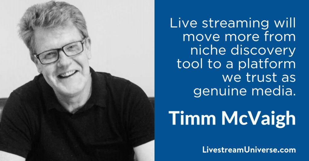 Timm McVaigh 2017 Prediction Livestream Universe
