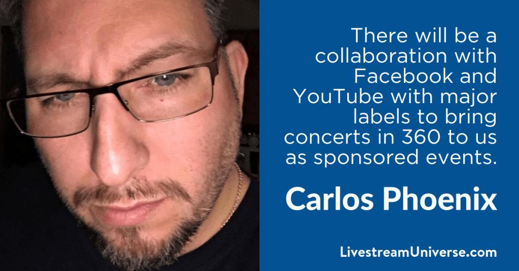 Carlos Phoenix 2017 Prediction Livestream Universe