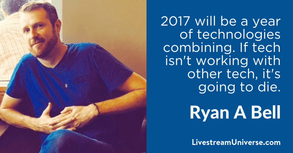 Ryan A Bell 2017 Prediction Livestream Universe
