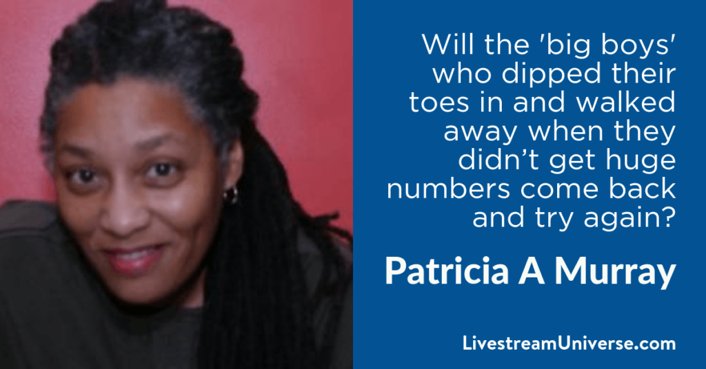Patricia A Murray 2017 Prediction Livestream Universe