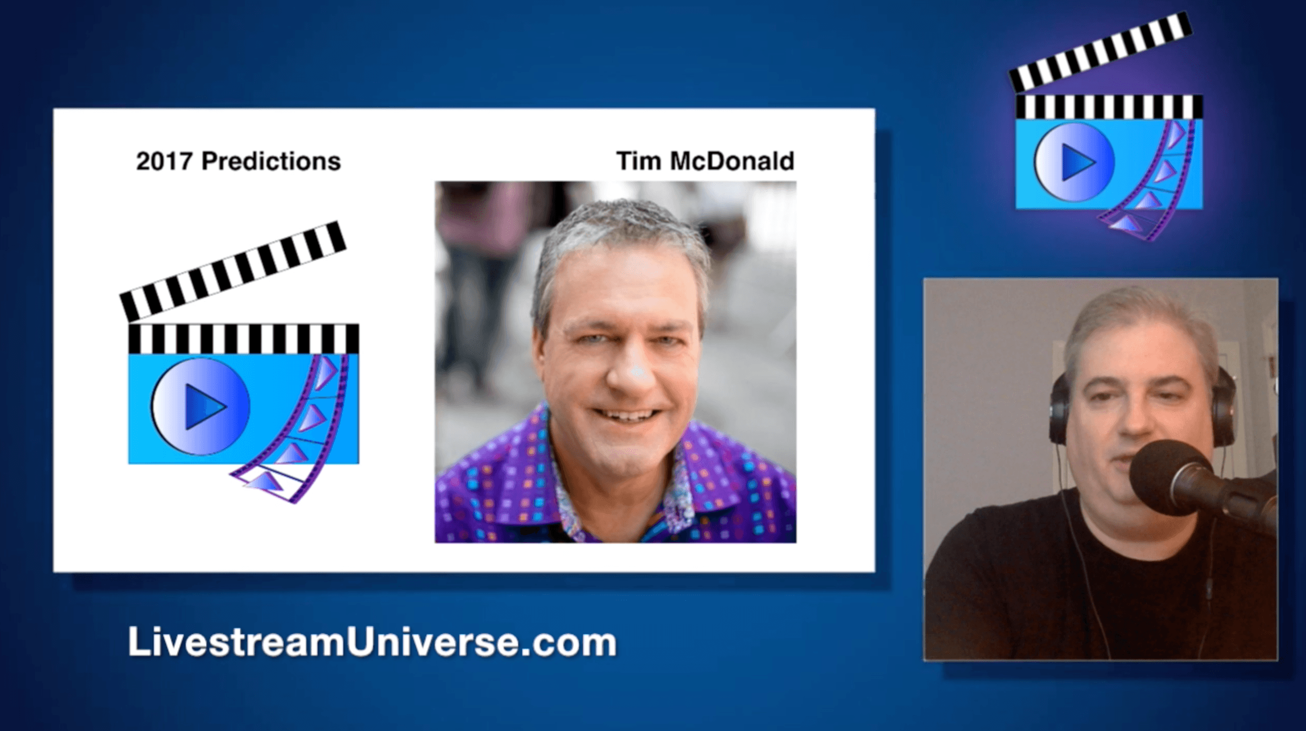 Tim McDonald Livestream Universe Update