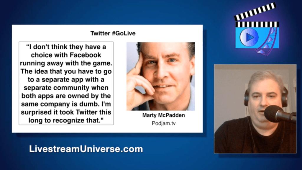 Marty McPadden Ross Brand Livestream Universe Update