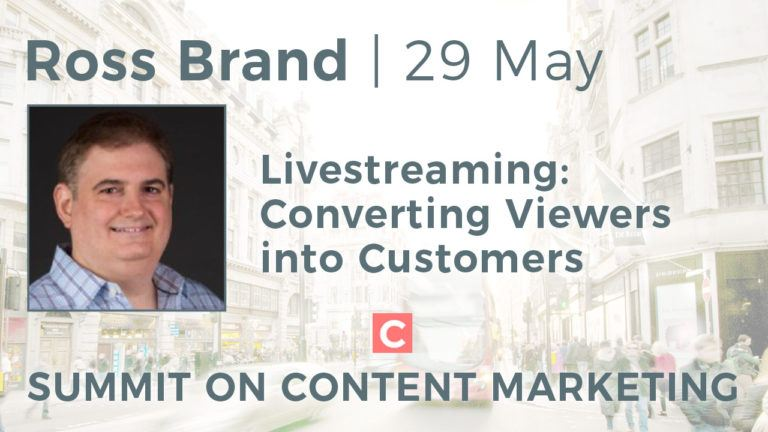 Ross Brand Summit on Content Marketing