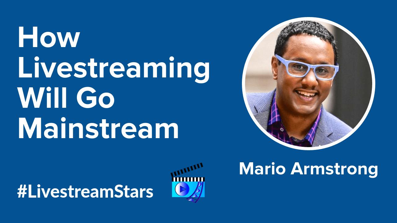 Mario Armstrong Livestream Universe Stars