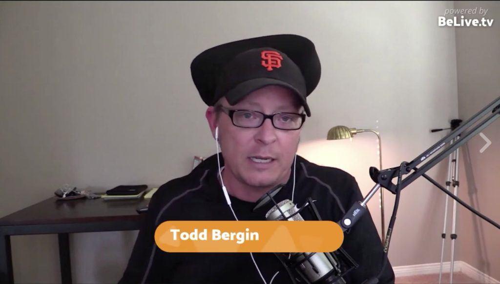 Todd Bergin of Todd.Live Livestream Universe Stars